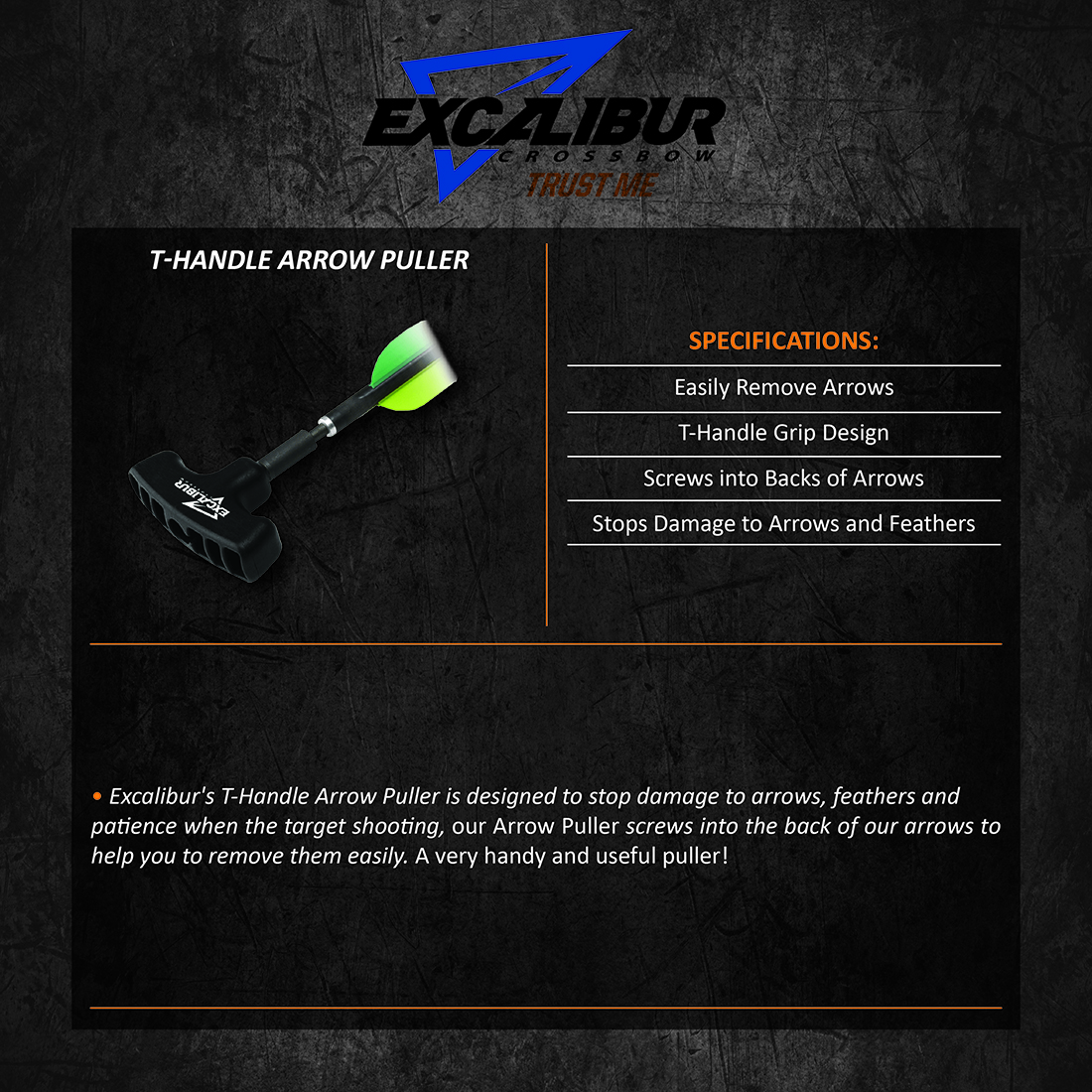 Excalibur_T_Handle_Arrow_Puller_Product_Description