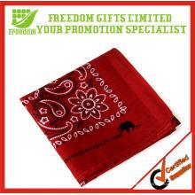 Fashion Design Cheap 100% Cotton Bandana