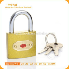 China Hot Sale Golden Painted Padlock