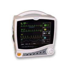 """Adjustable Vital Signs 8"""" Tft Led Backlight Portable Patient Monitor With Audio Alarms"""