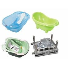 Plastic baby bath basin injection mould