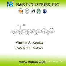 CAS# 127-47-9 Vitamin A Acetate 2,600,000IU/G Feed grade