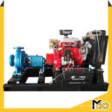 Pompe à eau centrifuge de rivière d'aspiration d'extrémité diesel de 3inch
