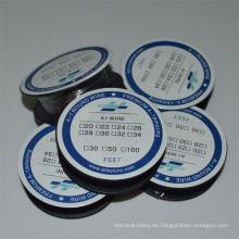 30 pies de calibre 24 K-Alambre de resistencia eléctrica cable de calefacción utilizado para la unidad de calefacción del atomizador de cigarrillo electrónico