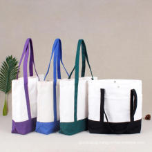 Customized factory handmade wine bottle tote bags for shopping