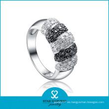 Anillo puro de la plata esterlina 925 de la alta calidad para los hombres (R-0073)