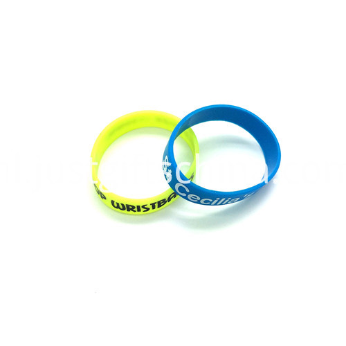 Promotional 12 Inch Printed Silicone Wristbands2