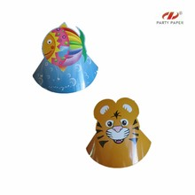 New Style Printed Paper Hat For Kids