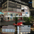 modular double level booth stand exhibition stand, booth for trade show design, cheap exhibition stand in shanghai in china