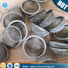 Stainless steel 304 Wire mesh filter cap /water tap filter cap