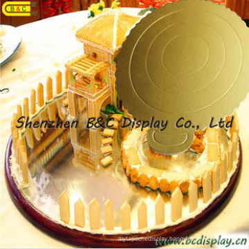 6 Inch Round Corrugated Paper Cake Tray/Cake Boards/FDA for Birthday Cakes (B&C-K052)