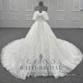 Новый Кружева Юбка Свадебное Платье Без Бретелек Шику Свадебное Платье Коллекции 2018