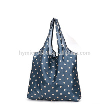 Foldable waterproof nylon shopping bag wholesale