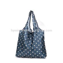 Dobrável saco de compras de nylon à prova d 'água por atacado