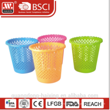 HaiXing Popular and colorful waste basket