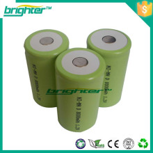 high capacity 1.2v nimh rechargeable battery for led flashlight torch light