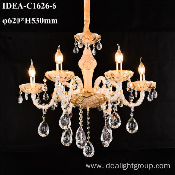 restaurant pendant lamp foyer candle chandelier