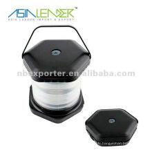 8 lampe LED à levier télescopique avec compas