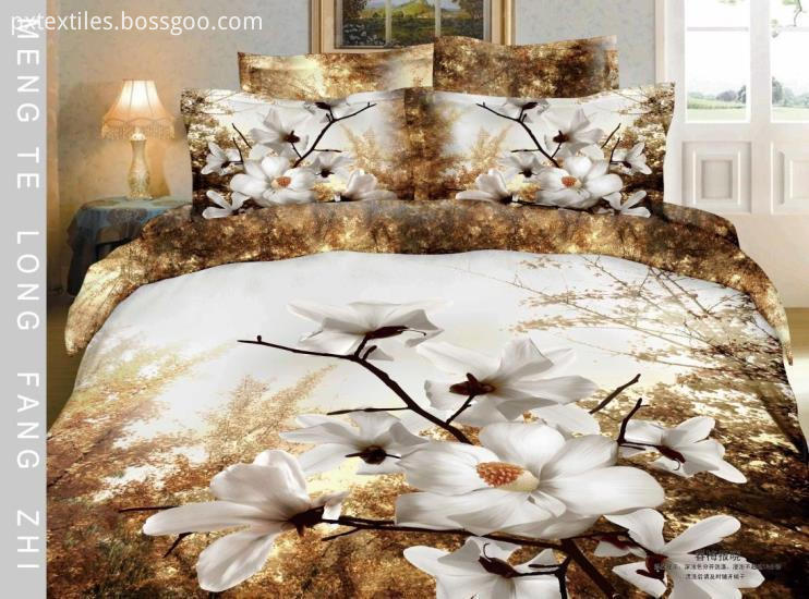 Reactive Printed Bedding Fabric