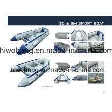 Alta calidad Weihai pesca barco aprobado del CE