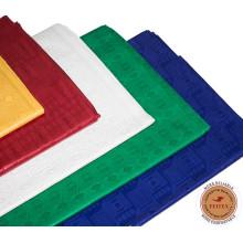 La ropa africana más barata de Bazin de la moda vende al por mayor la tela de algodón de la ropa del brocado de Shadda