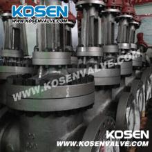Válvulas de compuerta de cuña de vástago ascendente Kosen API 600