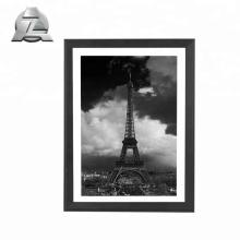 Black 8x10 11x14 Inch Wall Hanging Metal Aluminum Photo Frame