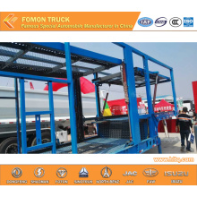 2-axle vehicle transport semi-trailer for 10units car