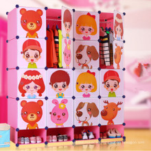 Cute Cartoon Design Commodity Shelf Cabinet Armario armario