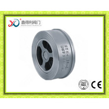 Externally-Positioned Wafer Double-Disc Swing Check Valve