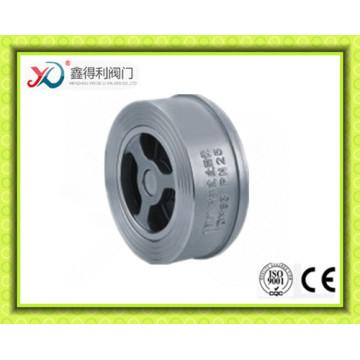 DIN Pn16 Pn25 Pn40 Wafer Válvula de retenção