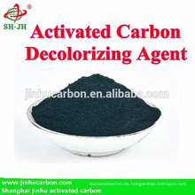 Carbón activado para la decoloración del glutamato monosódico y la sacarina