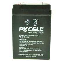 PKCELL plomb acide 6v 4.5ah batterie