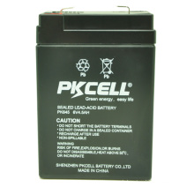 PKCELL lead acid 6v 4.5ah Battery