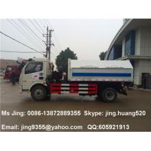 Good quality DuoLiKa 5m3 single-arm lifter garbage truck dimensions