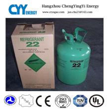Gás misturado do refrigerante da pureza alta da aprovação do GB do líquido refrigerante R22