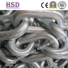 Cadena de enlace de ancla abierto / perno de 6 mm a 62 mm