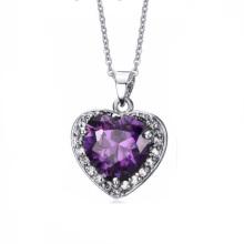 Atacado melhores amigos amor coração pingentes colar de jóias