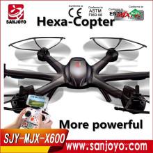Vehículos aéreos no tripulados MJX-X600 con pequeño abejón del helicóptero del control remoto del consumo de energía