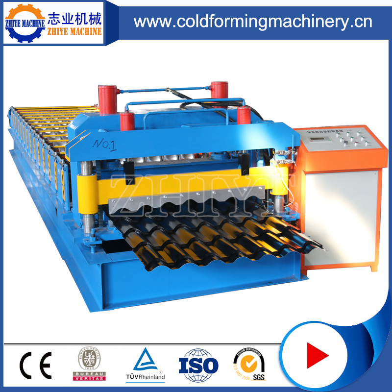Glazed Roofing Tile Roll Forming Machinery