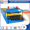 Cangzhou Glazed Tiles Sheet Machine Totalmente automático GI