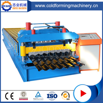 Glazed Roofing Tile Cold Roll Forming Machinery