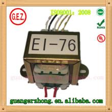 Transformador de potencia de alta calidad RoHS CQC ei 76