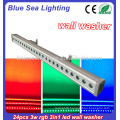 24x3w rgb 3in1 led wall washer light outdoor tree led flood light