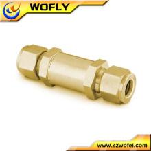China AFK brass nitrogen natural gas filter