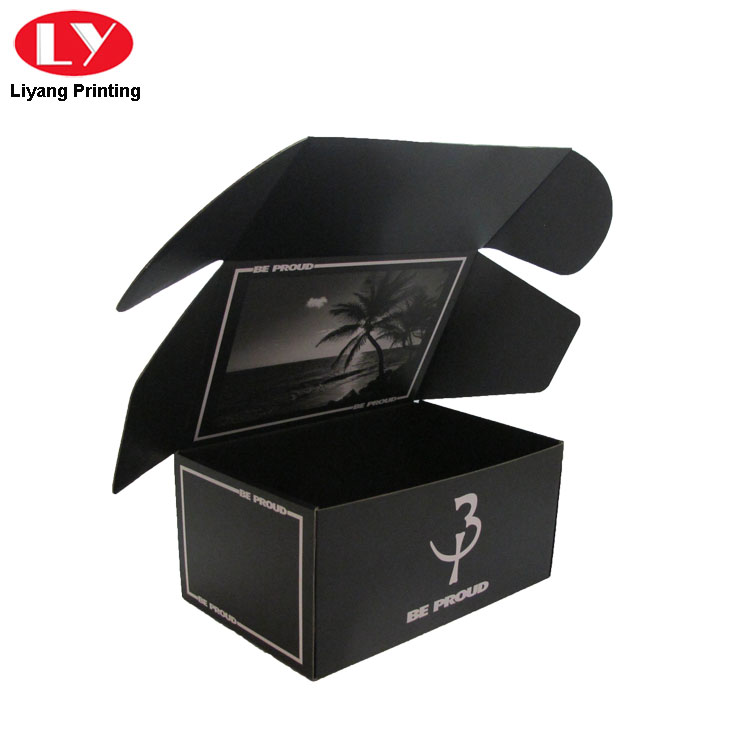 Black Box For Tea Shipment