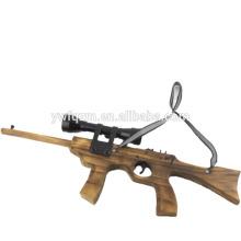 china criança brinquedo 32 # arma de borracha de madeira com telescópio
