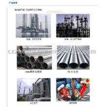 Legiertes Stahlrohr ASTM A106 API 5L DIN NAHTLOSES WASSER FLÜSSIGES GAS