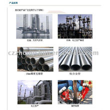 Tubo de acero de aleación ASTM A106 API 5L DIN GASOLINA FLUIDO DE AGUA INCORPORADA