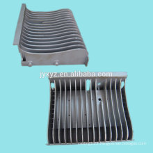 Shenzhen oem die casting aluminum alloy flexible heat sink